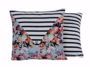 Square cotton cushion MESSAGER - LELIEVRE