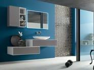 Sistema bagno componibile META - COMPOSIZIONE 8 - Arcom