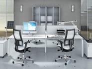 Rectangular office desk METHRO | Office desk - Arcadia Componibili - Gruppo Penta