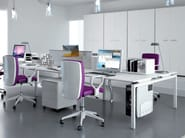 Multiple office workstation for open space METHRO | Office workstation - Arcadia Componibili - Gruppo Penta