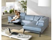Sectional relaxing sofa MICOL | Sectional sofa - Egoitaliano