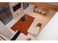 Lampada a sospensione alogena in acciaio inox Mini Mega SPOETNIK - FERROLIGHT DESIGN