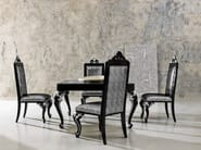 Carved laquered furniture dining table and chair home decor - Minimal Baroque Collection - Modenese Gastone