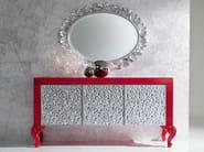 Creased style sideboard handmade Italian hardwood - Minimal Baroque Collection - Modenese Gastone