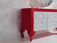 Creased door sideboard handmade Italian hardwood - Minimal - Baroque Collection - Modenese Gastone