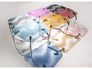 Tempered glass table MIRA - Casali