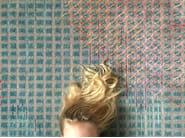 Handmade rectangular rug MIRAGE BLUE - Golran
