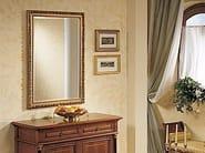 Rectangular wall-mounted framed mirror GALILEO | Mirror - Arvestyle