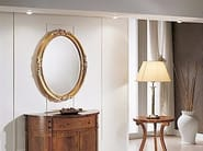 Oval wall-mounted framed mirror DIANA | Mirror - Arvestyle