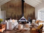 Contemporary style landscape wallpaper MIST - Inkiostro Bianco