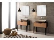 Vanity unit with drawers MIZU | Vanity unit - Scarabeo Ceramiche