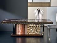 Rectangular rosewood living room table MK152 | Table - Rozzoni Mobili d'Arte