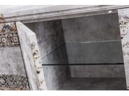 Glass-fibre sideboard with doors MM-02 - MOMENTI di Bagnai Matteo