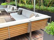 Modular garden sofa CITYSCAPE | Modular sofa - 7OCEANS DESIGNS