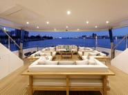 Divano modulare in teak CAROLINA BEACH | Divano modulare - 7OCEANS DESIGNS