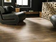 Indoor/outdoor porcelain stoneware flooring with wood effect MONTANA - Venis