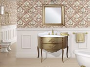 Lacquered vanity unit with drawers with mirror MONTECRISTO CM27DC - LA BUSSOLA