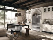 Fitted wood kitchen MONTSERRAT - COMPOSITION 03 - Marchi Cucine