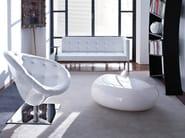 Swivel armchair MOOR(e) - Driade