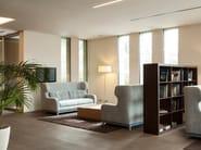 Upholstered high-back fabric sofa bed MORGAN - Milano Bedding