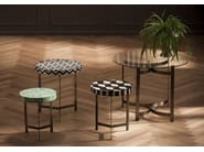 Stool / coffee table MUSIVO ROUND - KARE-DESIGN