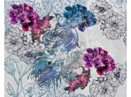 Wallpaper with floral pattern MYSTICAL DREAM - Wall&decò