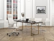 Swivel task chair with 5-Spoke base with armrests MYTURN 10S/10Z - profim