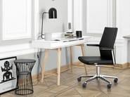 Swivel task chair with 5-Spoke base with armrests MYTURN 20S/20Z - profim
