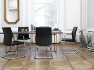 Cantilever training chair with armrests MYTURN 21V/21VN - profim
