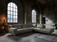 Corner leather sofa NANDO | Leather sofa - Max Divani