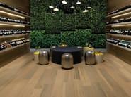 Wall/floor tiles with wood effect NAPAMI MOIRÉ - NOVOCERAM