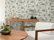 Motif non-woven paper wallpaper NAUTIC - LGD01