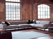 Corner sectional upholstered fabric sofa NAVIGLIO | Corner sofa - arflex