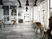 Porcelain stoneware flooring with stone effect LASCAUX NAXA SHOP - La Fabbrica