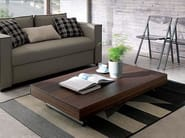 Height-adjustable folding coffee table NEWOOD | Wooden coffee table - Ozzio Italia