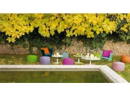 Round garden pouf NIDO | Garden pouf - Paola Lenti