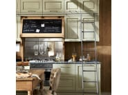 Fitted wood kitchen NOLITA - COMPOSITION 01 - Marchi Cucine