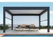 Freestanding aluminium pergola NOMO | Freestanding pergola - PRATIC F.lli ORIOLI