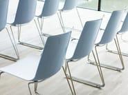 Sedia a slitta impilabile NOOI | Sedia a slitta - Wiesner-Hager