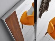 Contemporary style framed freestanding rectangular mirror NORDIC | Mirror - Altinox Minimal Design
