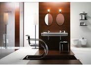 Wall-hung ceramic toilet NORM 55   Wall-hung toilet - GSI ceramica