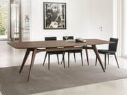Rectangular table NOVECENTO | Wood veneer table - Pacini & Cappellini