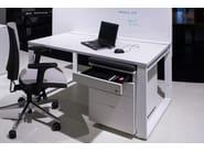 Cassettiera ufficio con ruote con serratura PEDESTALS | Cassettiera ufficio - BALMA