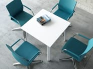 Round meeting table OGI | Square meeting table - MDD