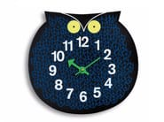 Wall-mounted kids clock OMAR THE OWL - Vitra
