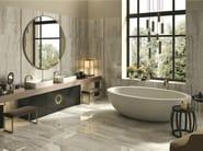 Porcelain stoneware flooring with marble effect ORO BIANCO | Flooring - Cooperativa Ceramica d'Imola S.c.