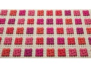 Handmade square rug ORTO | Square rug - Paola Lenti