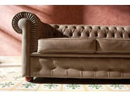 Corner tufted leather sofa OTTOCENTO | Corner sofa - Domingo Salotti