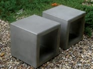 Concrete outdoor chair OUTLINE | Outdoor chair - SIT