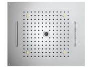 LED overhead shower for chromotherapy Dream 4 Sprays - RGB CROMOTHERAPY - Bossini